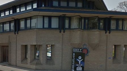 Police Colchester HQ... where raids were co-ordinated on suspected brothels. Picture: Google