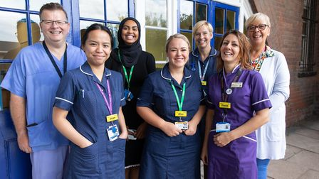 Whipps Cross Hospital urology team is up for an Macmillan Professionals Excellence Award. Picture: M