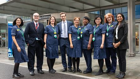 The Macmillan acute oncology service team at the Royal London Hospital has been nominated for an awa