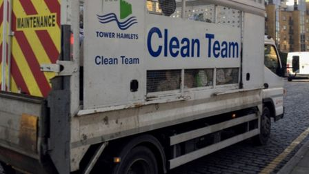 Even the council's own bin lorries are barred! Picture: Andrew Wood