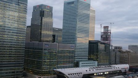 Aspen Way is all that separates Canary Wharf from some of Tower Hamlets' most 'deprived' postcode ar