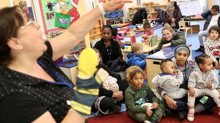 Five-year Children's Services strategy launched by Tower Hamlets Council at Bethnal Green children's
