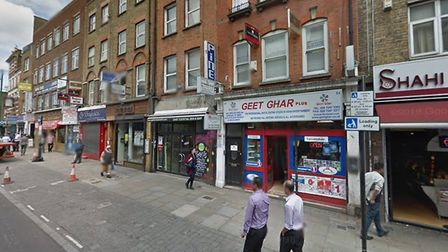 The Whitechapel offices of the Aid and Peace Trust, as they looked in July 2012. Picture: Google Str