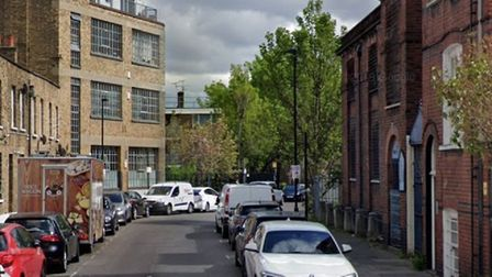 Nelson Street... where Iron Miah was found fatally wounded on November 19, 2019. Picture: Google