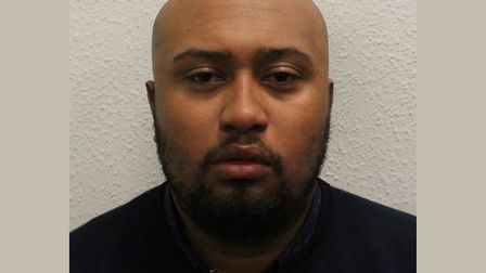 Rapist Jonathan Graden... jailed for life with 10 years minimum. Picture: Met Police