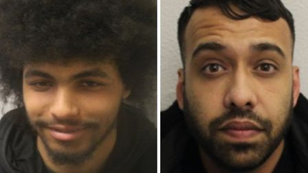 Joell Morley (left) and Jubed Ali, both wanted for questioning. Picture: Met Police
