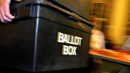 Polling Day... the big count as Romford, and Hornchurch and Upminster residents make their vote. Pic