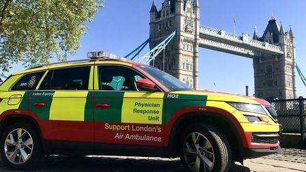 Physician Response unit saving east London NHS £500,000 a year treating patients at the scene or at