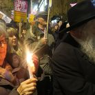 Candle in the wind... Solidariity with Jewish community after Chanukah night daubing of South Hampst