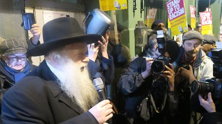 """Rabbi Herschel Gluk from Stamford Hill... """"We all have a duty to throw light into the world."""" Pictur"""