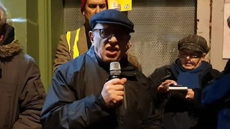 """Rob Ferguson, Newham campaigner... """"We have to unite. These Far Right forces are a threat to us all."""