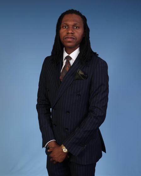 Matthew Otubu from Mile End has received a British Empire Medal (BEM). Picture: Framing Success Ltd/