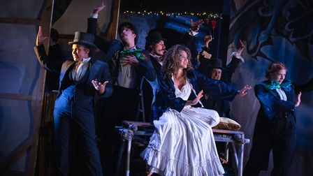 Watermill Theatre's production of A Midsummer Night's Dream is coming to Wilton's Music Hall. Pictur