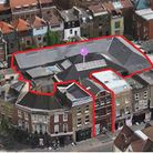 Aerial shot of proposed Time Out Market at 106 Commercial Street. Picture: JEREMY FREEDMAN