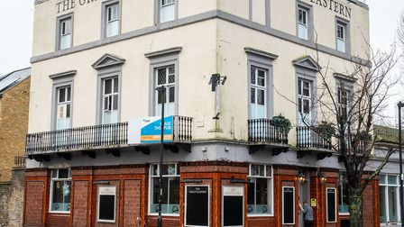 The Great Eastern in Millwall, getting a �600,000 makeover and a name change back to the Waterman's