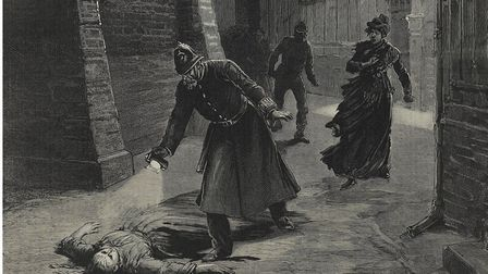 Jack the Ripper's reign of terror on the streets of Whitechapel, 1888. Picture: Docklands Museum