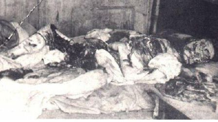 Last victim Mary Jane Kelly discovered at Miller's Court in Dorset Street... Did Jack the Ripper com