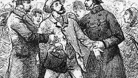 Many suspects are arrested... no-one is ever charged with the Whitechapel Murders of 1888. Picture: