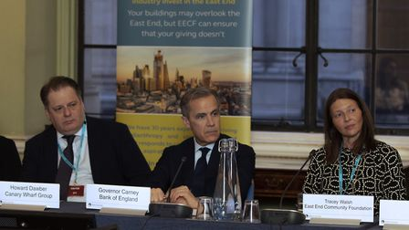 The governor gathered representatives from across the City and Canary Wharf to discuss their respon