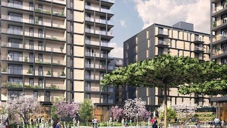 The plans for the Westferry site. Picture: Mace