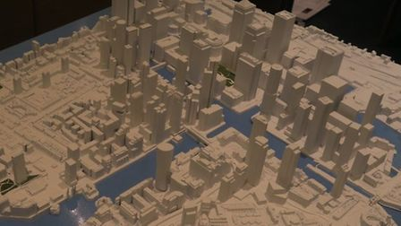 The controversial proposal is for 1,500 homes to be built on the Westferry Printworks site. Picture: