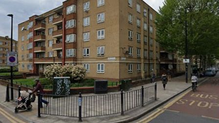 Khaleda Begum rented council flat in Whitechapel while owning a house in Ilford. Picture: Google