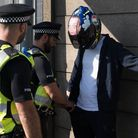 Police have doubled down on the use of stop and search across London. Picture: Stefan Rousseau/PA Wi