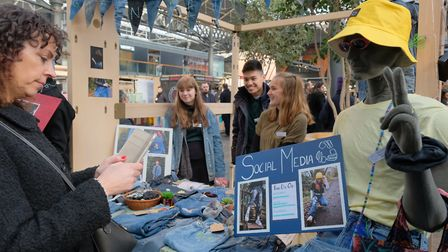 """Young Enterprise education programme helps youngsters discover """"skills they never knew they had"""". Pi"""