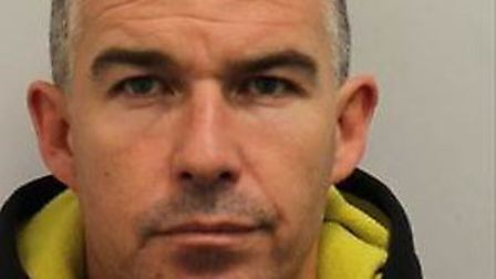Dean Garland was found with £3m worth of drugs and cash in two Transit vans. Picture: Met Police