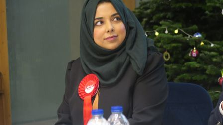 Apsana Begum, MP for Poplar and Limehouse, calls for the two-child limit to be scrapped. Picture: Mi