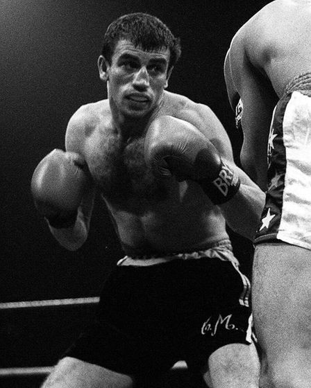 World flyweight champion Charlie Magri in action