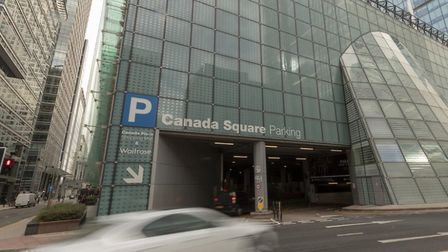 Canary Wharf Group... offering free car parking to NHS workers durring pandemic. Picture: CWG
