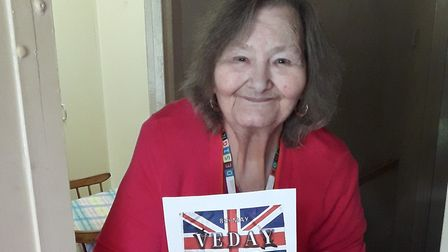 Freda Ziff remembers VE Day in 1945. Picture: Jewish Care