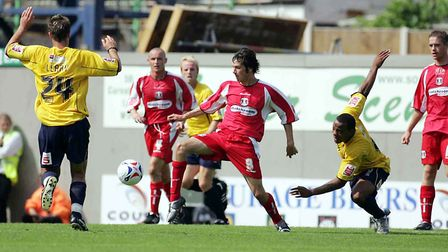 Craig Easton in action during the 2005/06 promotion season (Pic: Simon O'Connor)