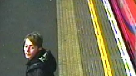 British Transport Police has released CCTV images following a robbery at Crossharbour DLR station. P