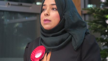 Apsana Begum, MP for Poplar and Limehouse. Picture: Mike Brooke