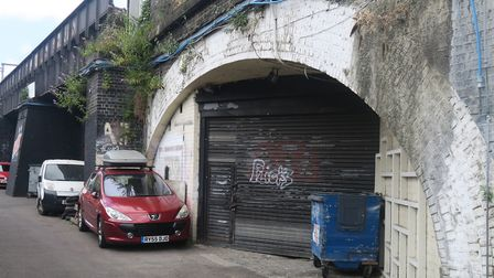 Lockdown London... railway arch businesses facing tough times ahead. Picture: Mike Brooke