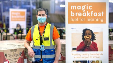 Magic Breakfast charity has sent out 2,000 children's meals so far during schools lockdown from Amaz