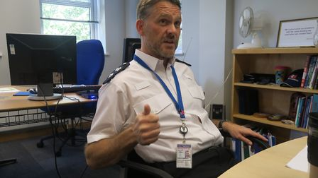 Det Chief Supt Marcus Barnett has been borough commander for Tower Hamlets and Hackney for almost a