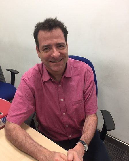 David Lieberman is the trial manager for the study and senior research practitioner at The Royal Lon