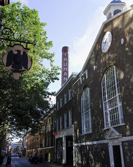 The Truman Brewery in its current guise. The Spitalfields site is subject to ongoing plans for comme