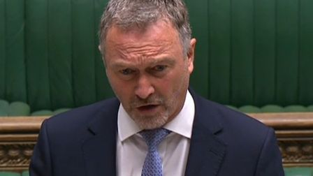 """Labour's Steve Reed in the Commons on June 11... """"Minister admitted his decision on Westferry was un"""
