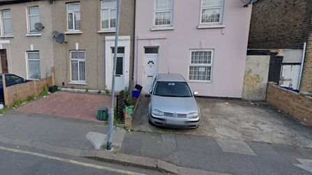 Empty driveways... maybe 'a nice little earner'. Picture: Google