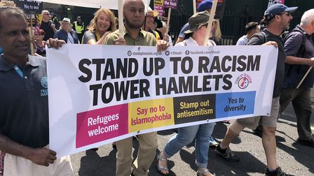 Tower Hamlets Stand up to Racism campaigners have called for Sir John Cass's name and tributes to be
