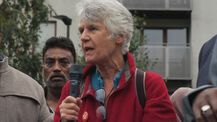Sheila McGregor from Tower Hamlets SUTR. Picture: Mike Brooke