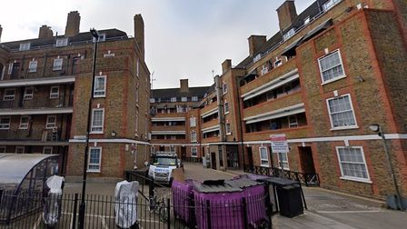 The Holland social housing estate in Spitalfields... lease-holder caught renting out flat as holiday