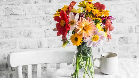 What better way to say 'I love you' than with a bouquet of bright, fresh flowers? Picture: Getty Ima