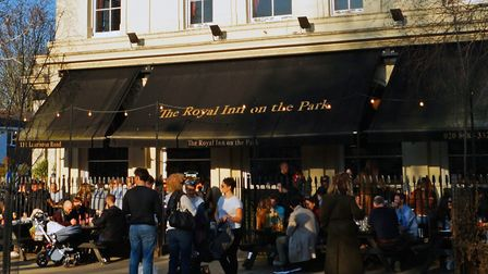 """Royal Inn on the Park... """"We opened at noon on Saturday and in an hour had a long queue that went on"""