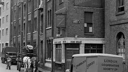 The tavern at Wapping where a mob put 'Hanging Judge' Jeffreys into 'lockdown' arrest in 1688. Pictu