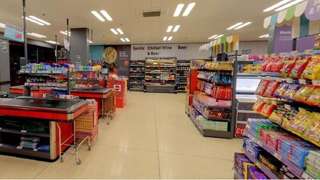 Iceland supermarket in Shadwell... excluded from government's summer holiday free school meals vouch